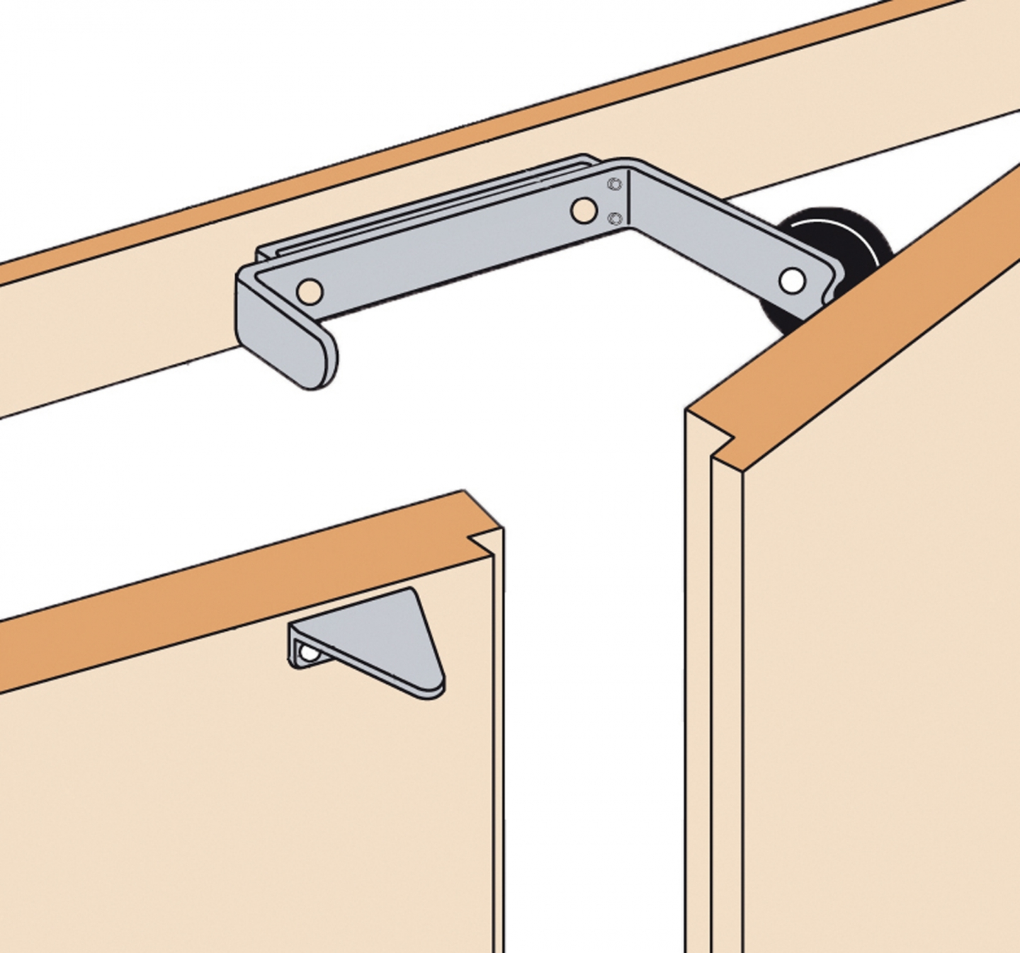 Mandatory equipment for double-leaf doors. Suitable for heavy doors up to 100kg. Weight  560 g. Dimensions  L.150 x H.34 x D30 mm.  sc 1 st  Fire safety products solutions and training - CORDIA & Order selector for double-wing door
