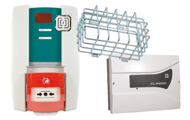 Fire alarm units. Crédits :