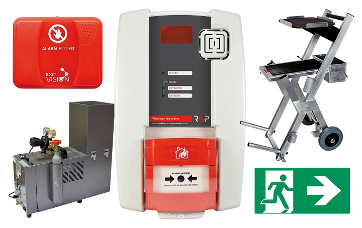Fire alarm products. Crédits : ©myfiresafetyproducts.com 2021