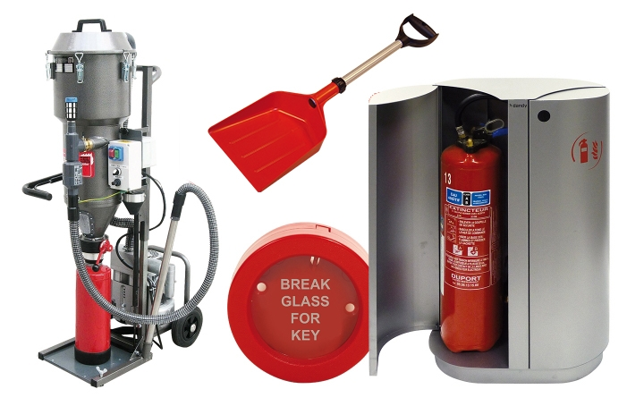 Fire servicing equipment. Crédits : ©myfiresafetyproducts.com 2021