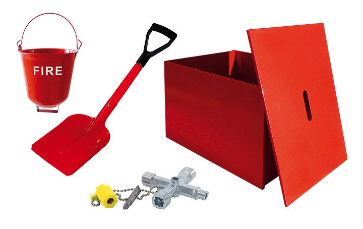 Firefighting equipment. Crédits : ©myfiresafetyproducts.com 2021