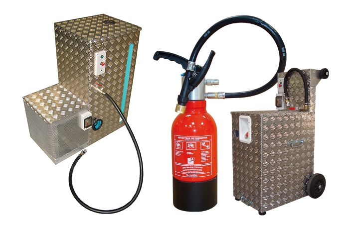 Training extinguisher. Crédits : ©myfiresafetyproducts.com 2021