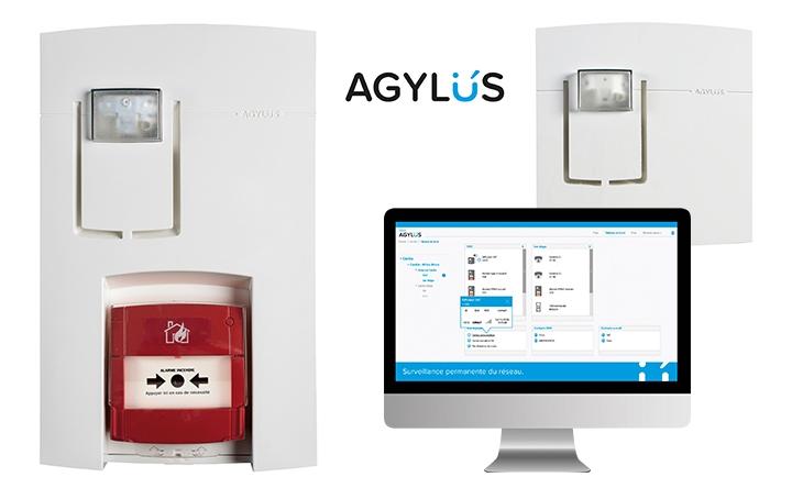 Wireless alarm units - AGYLUS. Crédits : ©myfiresafetyproducts.com 2021