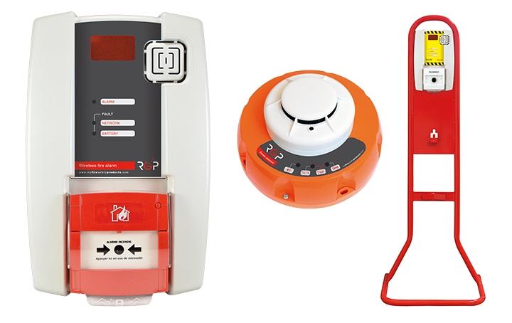 Wireless alarm units. Crédits : ©myfiresafetyproducts.com 2021