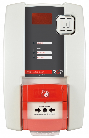 Fire alarm unit. Crédits :