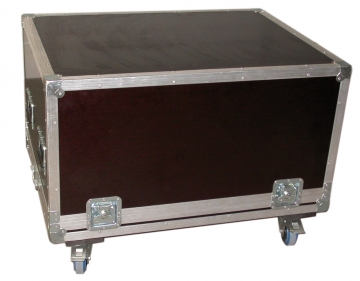 Flightcase for Vicount FT (fire detector tester). Crédits :
