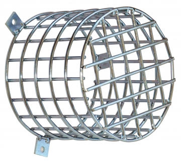 Protection cage for fire alarm sounder. Crédits :