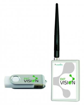 Exit Vision software. Crédits :