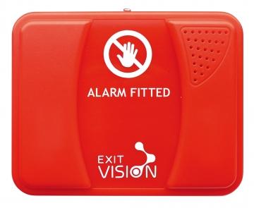 Wireless fire exit alarm. Crédits :