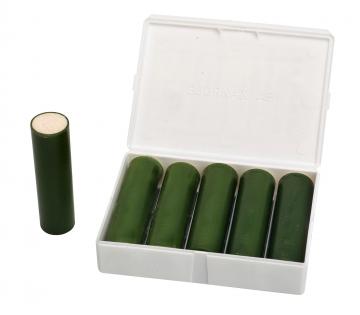 Red smoke cartridges – 17m3. Crédits :