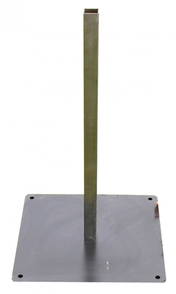 Floor stand for compact flame generator. Crédits :