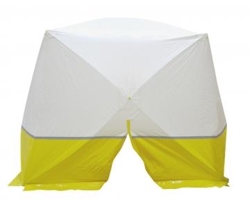 Protection tent – cuboid – W.2500 x H.2000 x D.1800 mm. Crédits :