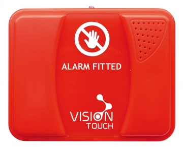 Wireless alarm unit for fire protection equipment. Crédits :