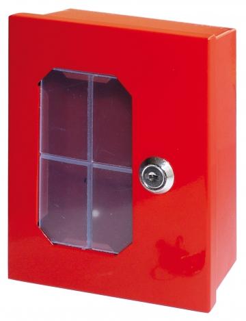 Emergency break glass key box. Crédits :