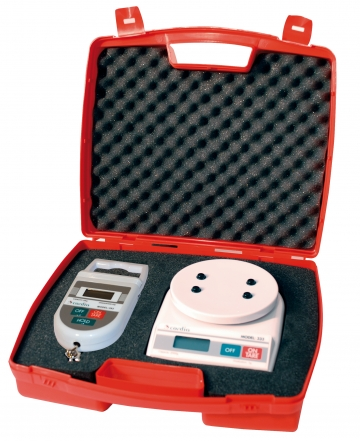 Electronic scales kit 50 kg. Crédits :