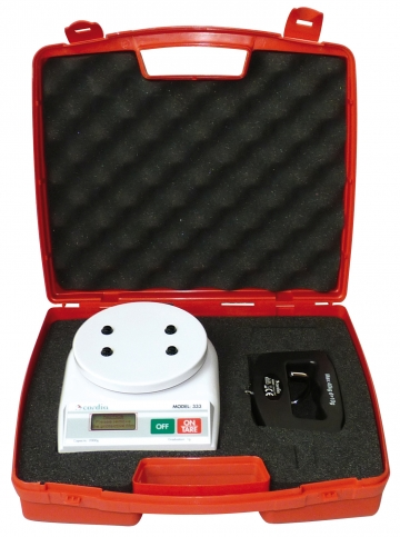 Electronic scales kit 40 kg. Crédits :