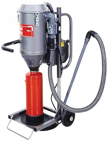 PSM Mini (Powder suction machine). Crédits :