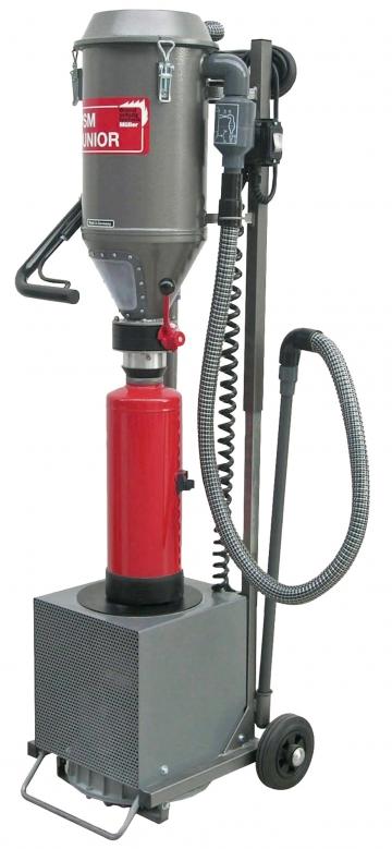 PSM Junior (Powder suction machine). Crédits :