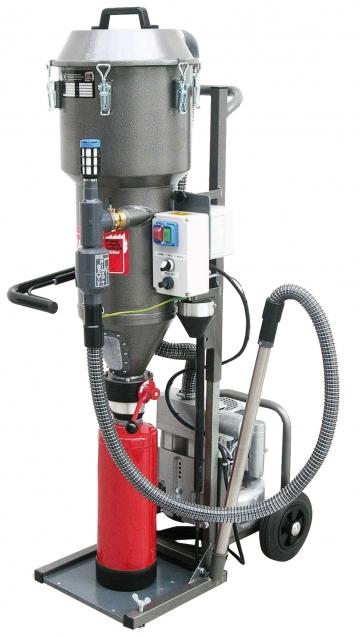 PSM Economic (Powder suction machine). Crédits :