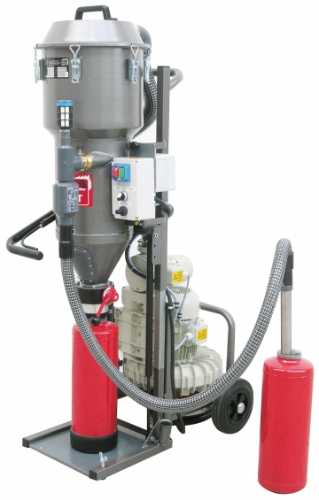 PSM Compact 380V (Powder suction machine). Crédits :