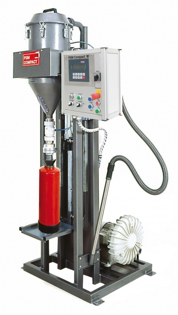 PSM Compact W 400 V (Powder suction machine). Crédits :