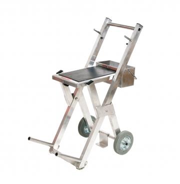 Servex (aluminium mobile trolley). Crédits :