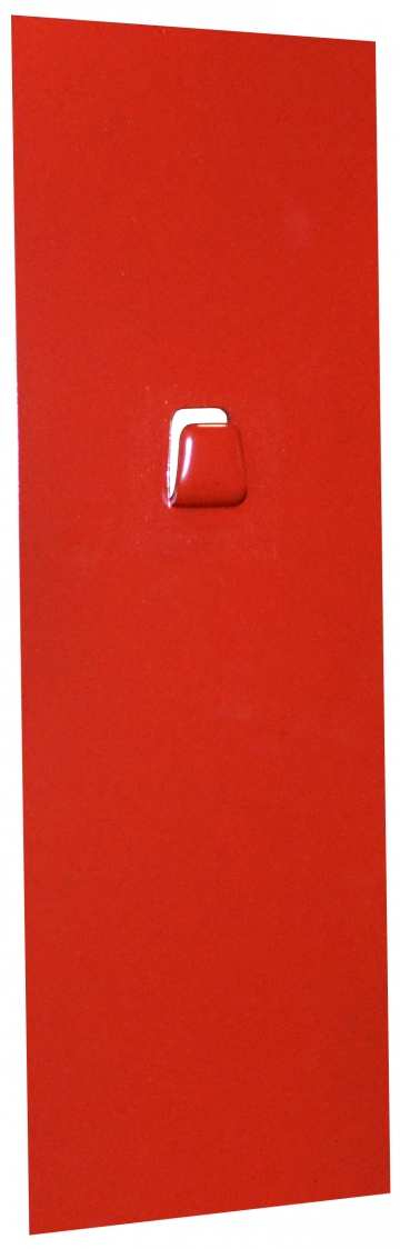 Magnetic wall bracket for 6/9 kg extinguisher. Crédits :