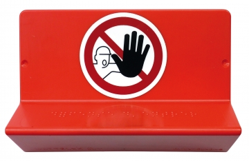 Braille sign - no entry. Crédits :