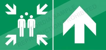 PVC sign L.300 x H.150 mm. Crédits :