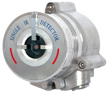 Single IR flame detector. Crédits :