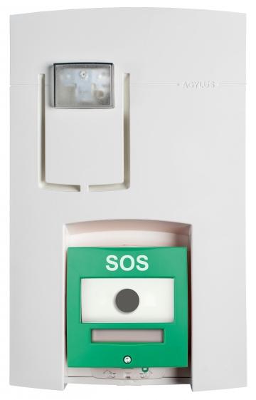 Alert point alarm unit - AGYLUS Eloquence. Crédits : ©myfiresafetyproducts.com 2021