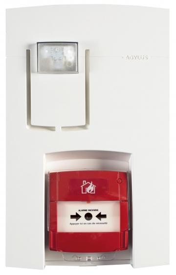 Wireless fire alarm unit - AGYLUS. Crédits : ©myfiresafetyproducts.com 2021