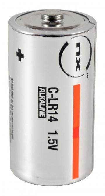 Alkaline battery LR14 (set of 10). Crédits : ©myfiresafetyproducts.com 2021