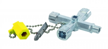 6-in-1 switch cabinet key. Crédits : ©myfiresafetyproducts.com 2021