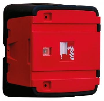 Fire Hose Reel Cabinet. Crédits : ©myfiresafetyproducts.com 2021