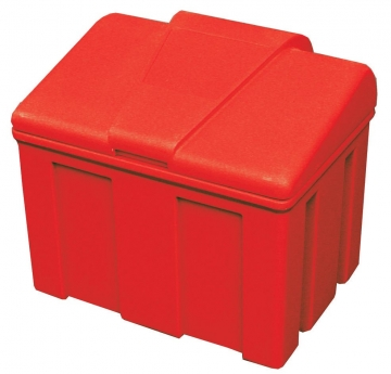 Weatherproof sandbox with cover. Crédits : ©myfiresafetyproducts.com 2021