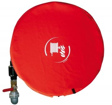 Cover for 25 mm Fire Hose Reel. Crédits : ©myfiresafetyproducts.com 2021