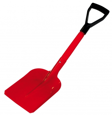 Fire shovel with short handle. Crédits : ©myfiresafetyproducts.com 2021