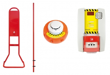 Fire extinguisher stand for detection. Crédits : ©myfiresafetyproducts.com 2021